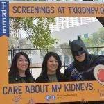 photo frame with batman at Big Give Pep Rally